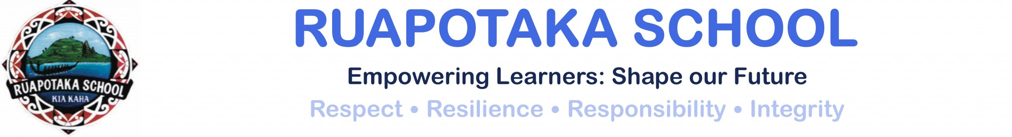 Ruapotaka School Logo